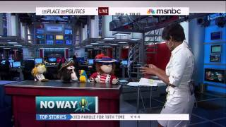 We Lost Our Gold - On MSNBC