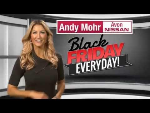andy mohr avon nissan tv commercial november 2015 m. Black Bedroom Furniture Sets. Home Design Ideas