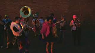 Honk!Fest West 2018-- Neon Brass Party Band, Georgetown 6/1/18