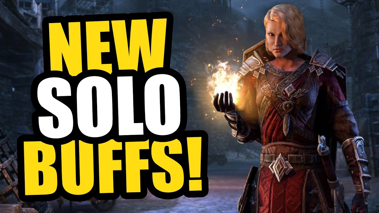 NEW SOLO BUFFS! 💪  Coming To ESO's Waking Flame DLC! BIG Damage, Passive Major Protection and More!