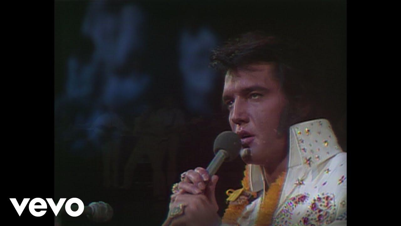 Elvis Presley My Way Aloha From Hawaii Live In Honolulu 1973 Youtube