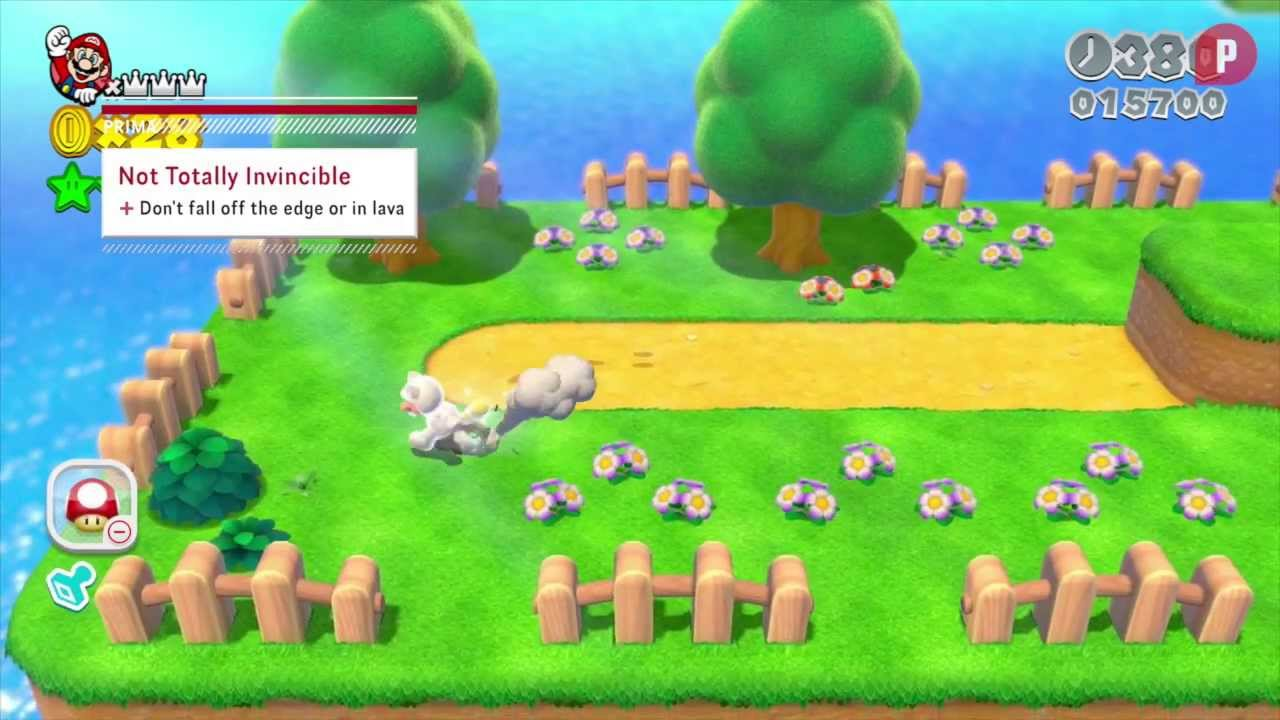 Animal Crossing Qr Codes Wallpaper Super Mario 3d World How To Get The Gold Leaf Youtube