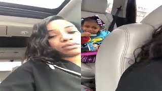 Mother Films Daughter Crying After Being Told her Father Won't See Her