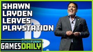 Shawn Layden Leaves PlayStation - Kinda Funny Games Daily 10.01.19