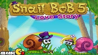 Snail Bob 5 Walkthrough Levels 21 - 25 HD