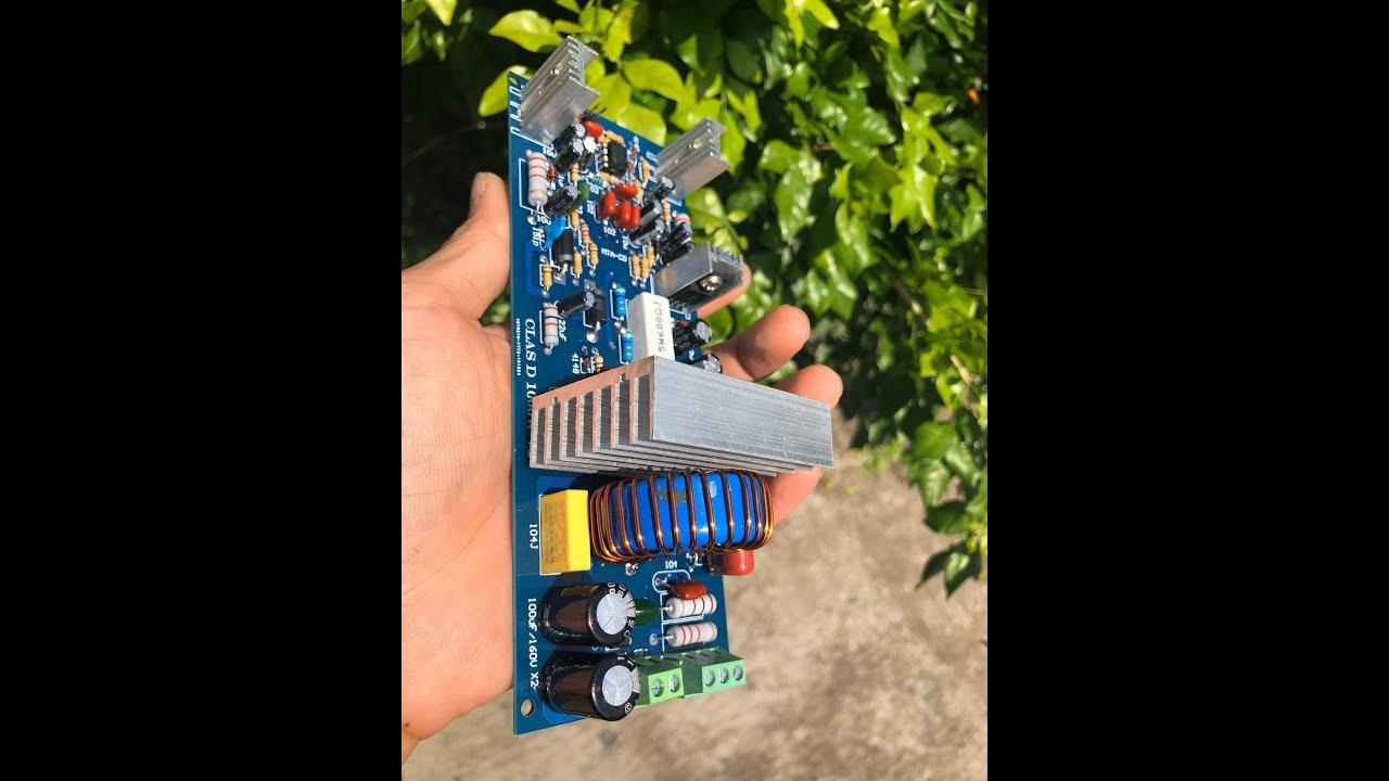 [MTA CD] class D 1000W V2 công suất cho người việt