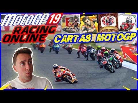💣 MOTOGP 19 | NUEVAS CARTAS DE MOTOGP! CARRERAS ONLINE *PC* 💣