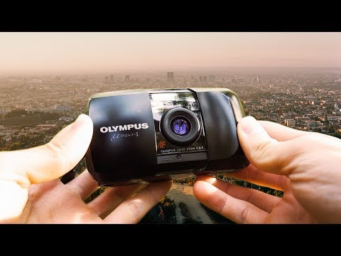 Olympus MJU 35mm Point and Shoot Review in Los Angeles