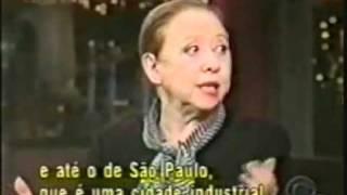 Fernanda MONTENEGRO   David Letterman   CENTRAL BRASILIEN