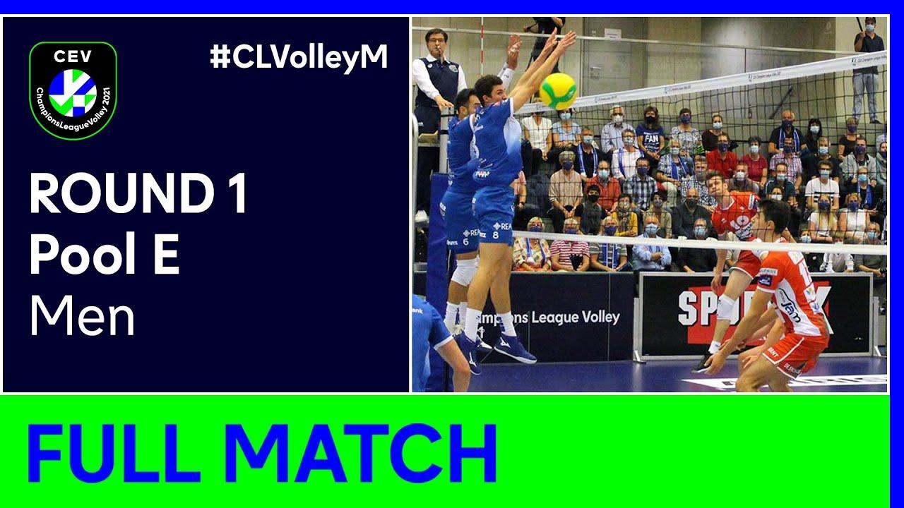 Lindaren Volley AMRISWIL vs. VC Greenyard MAASEIK - Champions League Volley 2021 Men R1