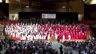 Kahuku High School Graduation Senior Medley 2015
