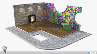 06 Topic #3 | Creating Real Floors & Walls ( 3ds Max Plugins & Scripts) (Arabic)