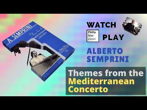 Alberto Semprini : Themes from the Mediterranean Concerto