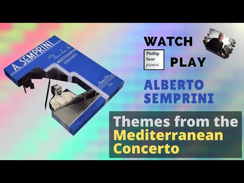 Alberto Semprini : Themes from the Mediterranean Concerto