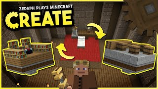 Swappable Base Module Contraption! - Minecraft Create Mod #1