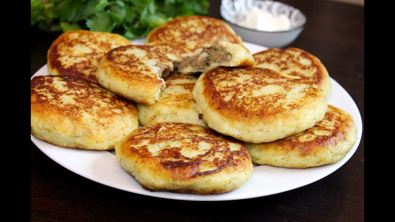 Картофельные Зразы С Печенью. Домашний ресторан®