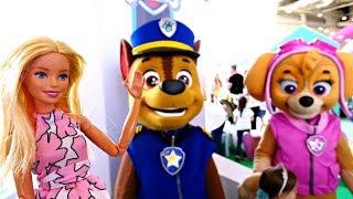 Барби на выставке игрушек - Выбираем подарок для Штеффи. Развлечения и Видео для детей