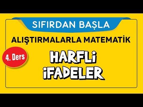 Harfli Ifadeler - Sıfırdan Başla 4. Ders - şenol Hoca Şenol Hoca Matematik