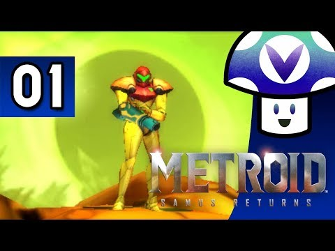 [Vinesauce] Vinny - Metroid: Samus Returns (part 1) + Art!