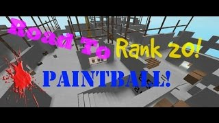 Roblox Paintball: Road To Rank 20! (10)