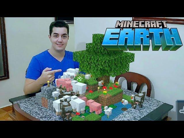 Minecraft Earth! - Galinhas, Ovelhas e Cogupatos!!