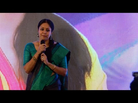 Actor Surya Is My World - Jyothika- 36 Vayadhinile Audio Launch Full & Exclusive