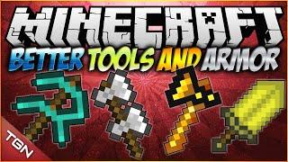 Minecraft 1.7.10   Better Tools And Armors MOD   [ Herramientas mejoradas!]