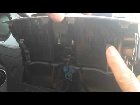 How to Remove Radio CD Player from Mercedes C Class 2008 for Repair