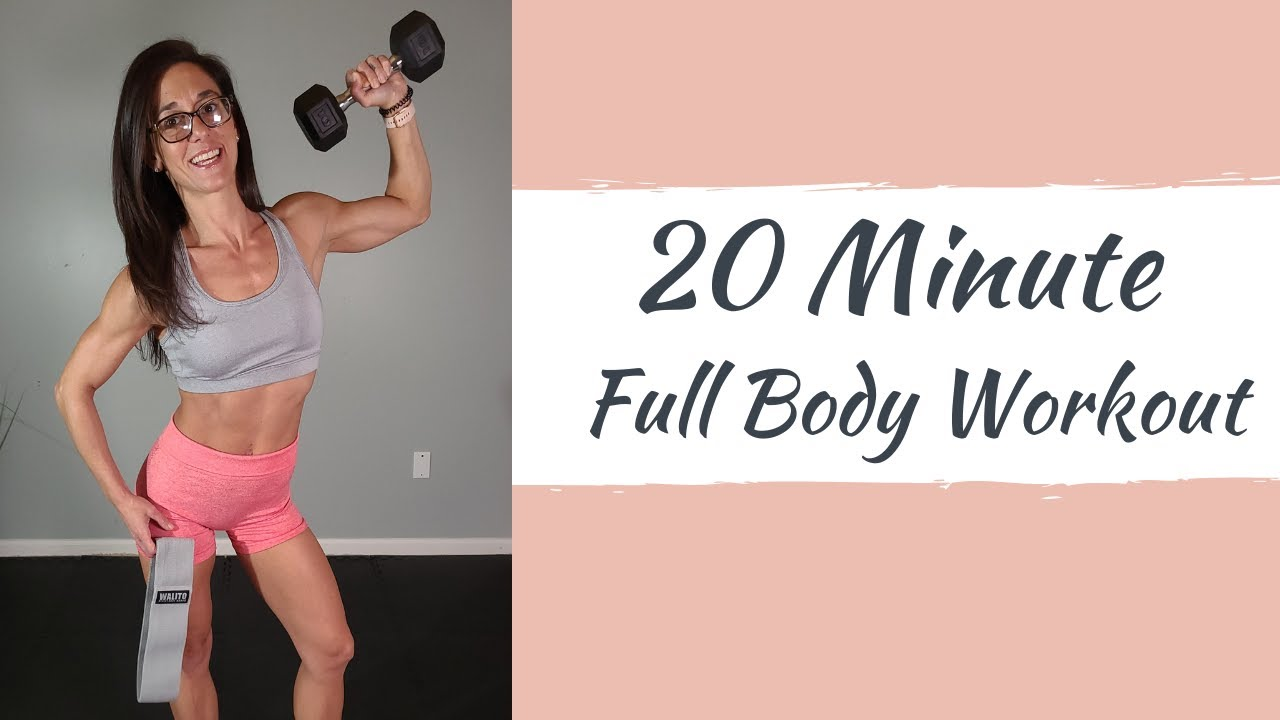 20 Minute Full Body Workout (Home Workout)