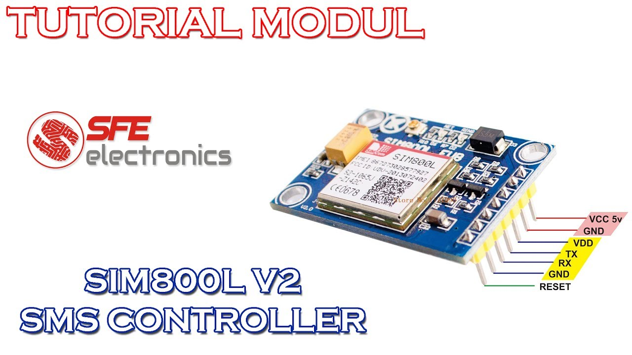 SMS Controller by Using SIM800L V2: 5 Steps