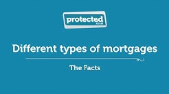 Different types of mortgages - Protected.co.uk