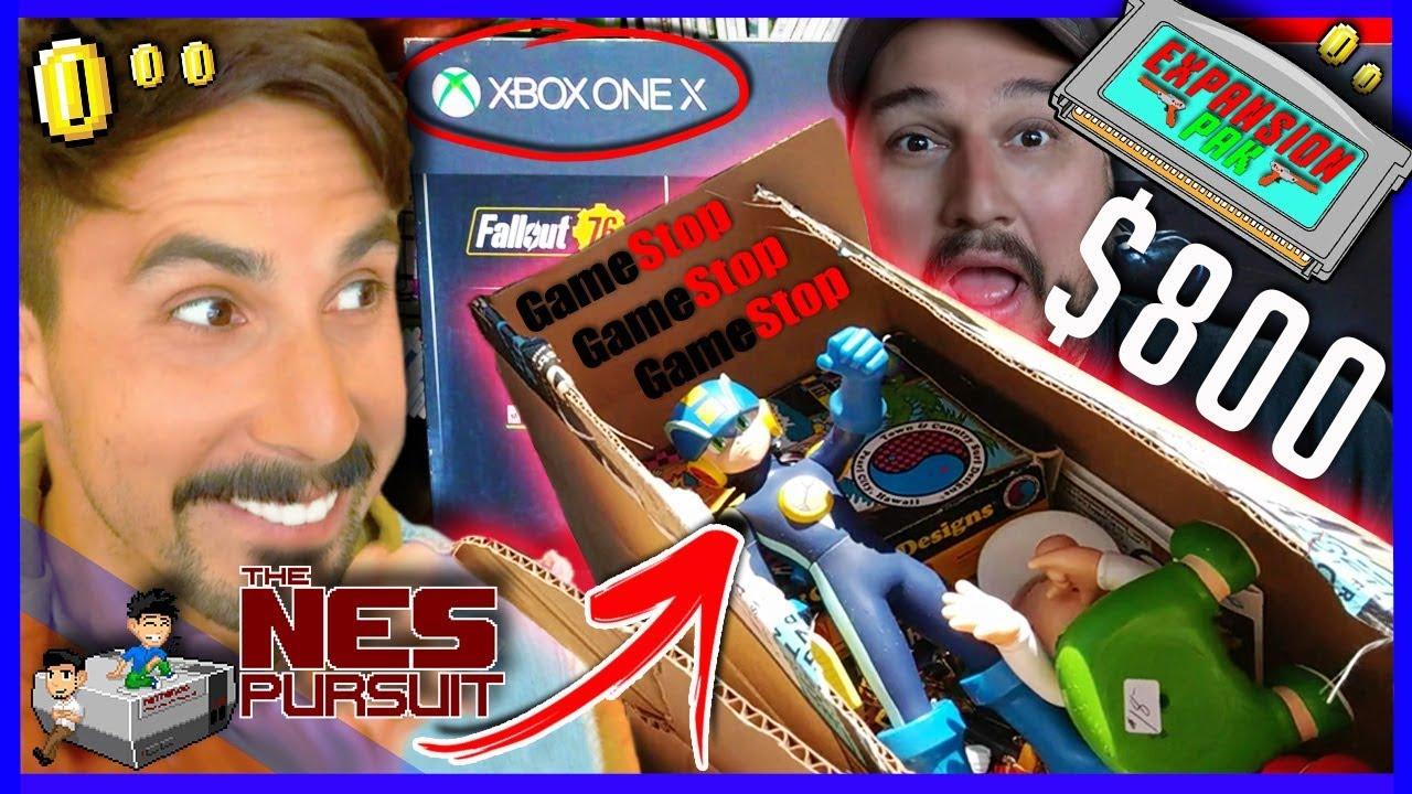 Thenespursuit Expansion Pak 800 Gamestop Trade
