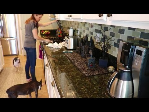DIRTY 30 KITCHEN CLEAN WITH ME | CLEANING ROUTINE