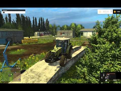 Farming Simulator 2015 обзор карт Новотроицкий и Holzhausen