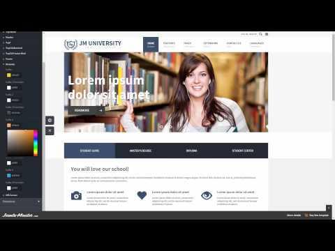 JM University - Multipurpose Education Joomla Template