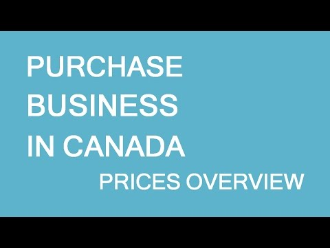 Purchasing Business In Canada. Prices. LP Group