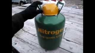 Homemade Liquid Nitrogen Dewar