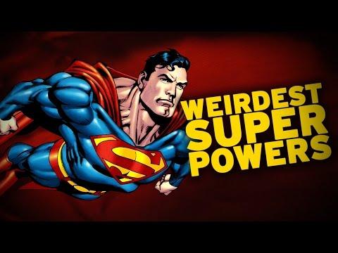 Top 10 Weirdest Superman Powers!