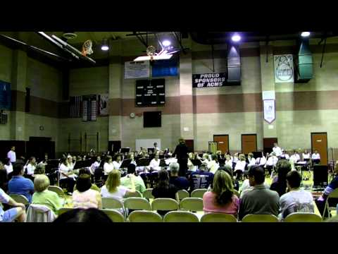 """""""Benediction"""" - Antelope Crossing Middle School 8th Grade Band"""
