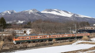 しなの鉄道 湘南色 浅間山
