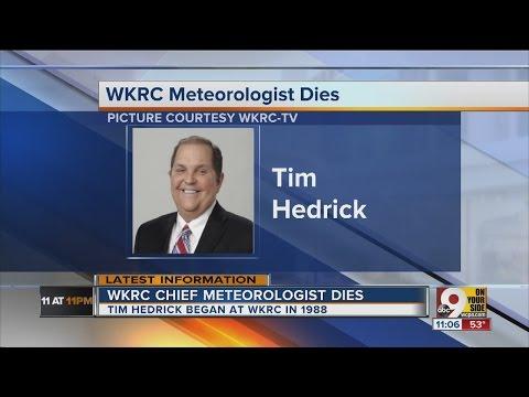 Tim Hedrick, longtime Cincinnati meteorologist, passes away