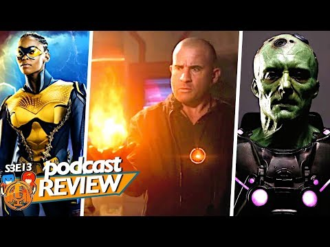 Mick & The Fire Totem, Thunder's Suit & Krypton Pilot // The Justice Clubhouse Podcast Episode 13