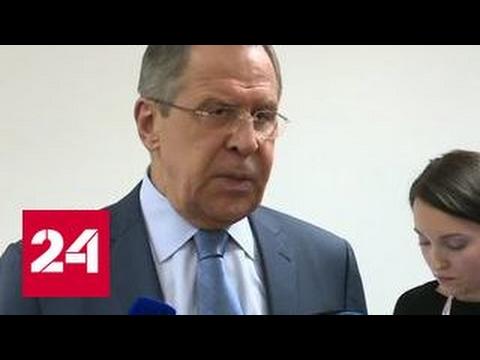 Лавров рассказал о первой встрече с новым госсекретарем США