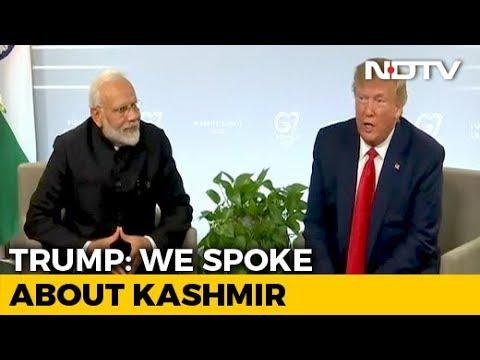 PM Modi 'Really Feels He Has It Under Control': Trump On Kashmir