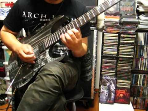The Agonist - Panophobia (Guitar Cover)