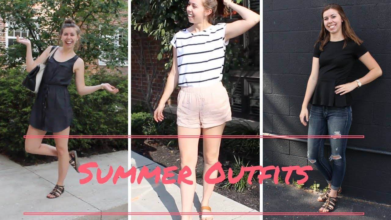 [VIDEO] - Summer Outfits | Lookbook 2