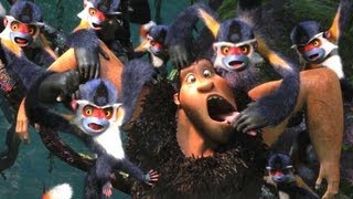 "The Croods Movie Clip ""Meet the Punch Monkeys"""
