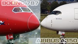 Boeing 787 vs Airbus A350