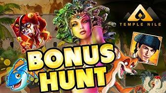BIG BONUS HUNT !!! Fishing Frenzy Megaways, Zombie Circus + More @ Temple Nile Online Casino Slots !