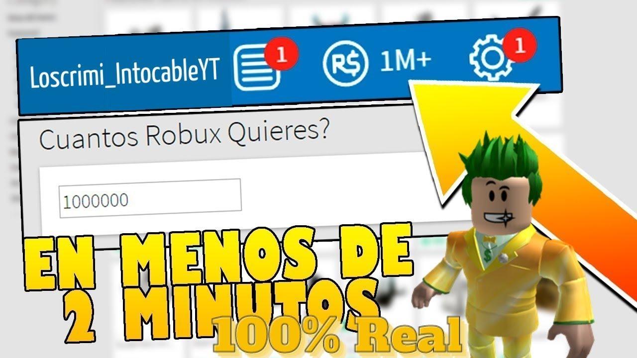 Roblox Tener Robux Gratis Funcionable Como Tener Robux Gratis Sin Hacks Facil Y Rapido En Roblox 2020 2021 100 Real Youtube